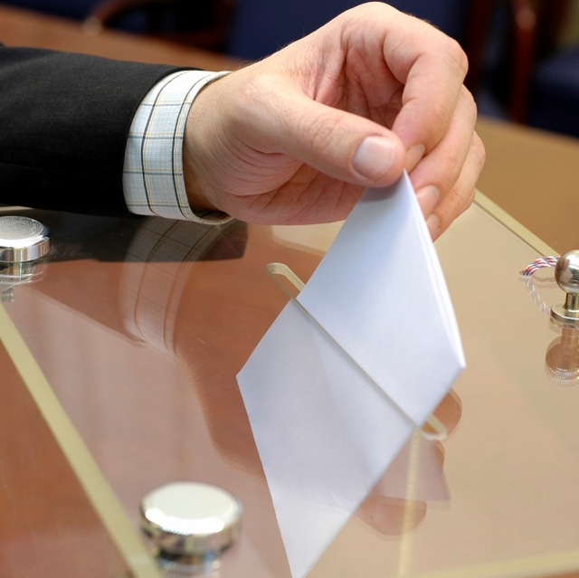 Elections Ballot Box Voting