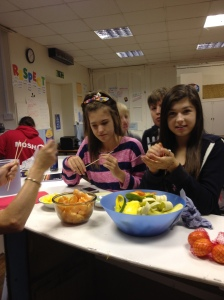 Martock Youth Club show their healthy side!
