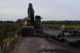 Muchelney road raising 1 Flood Action Plan