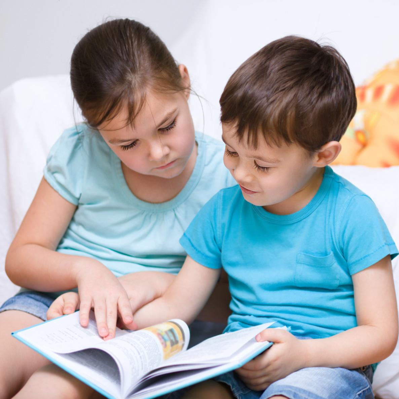 Children Reading Libraries