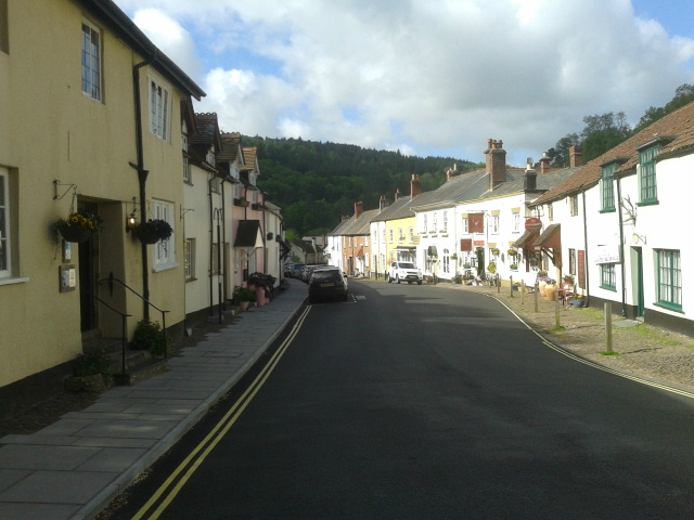 Dunster West Street cropped