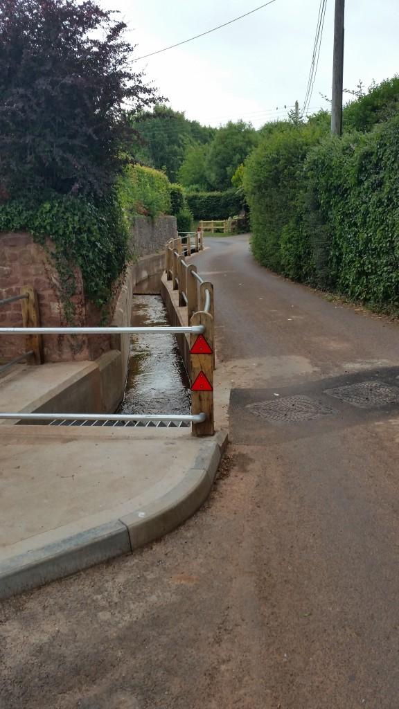 Carhampton flood mitigation scheme