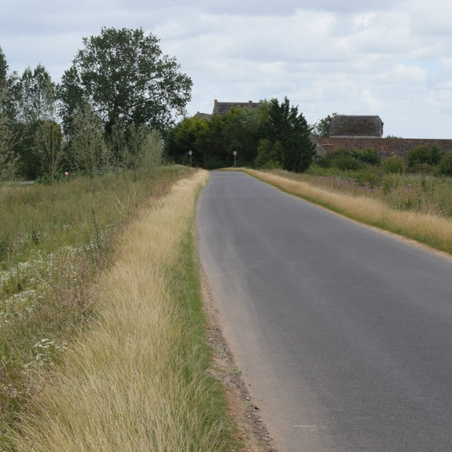 cropped finished road