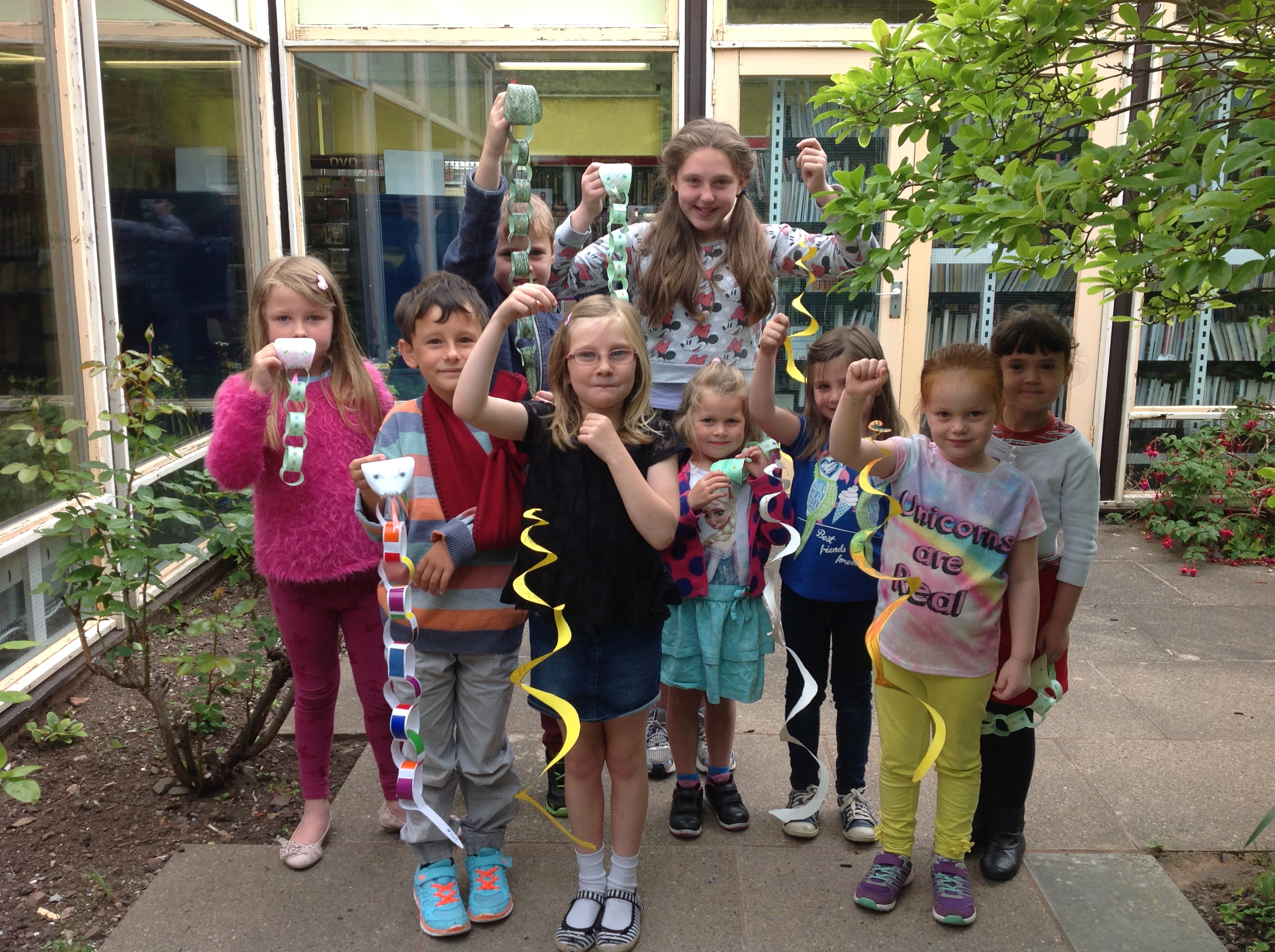 Minehead Library SRC event 1st Aug 2015