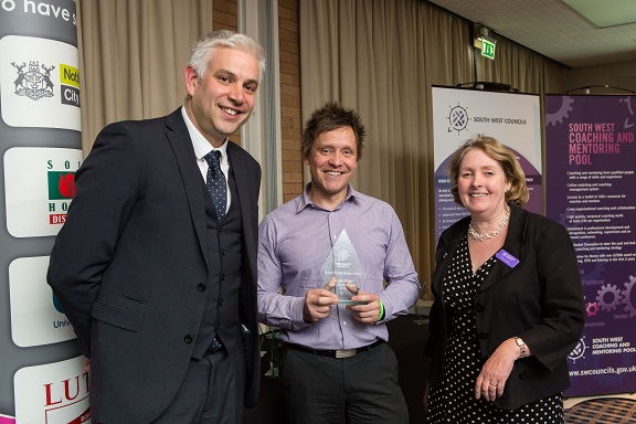 2015 South West Local Authority Challenge - Award for Best Chief Executive; The Holiday Inn, Taunton; Tuesday 20th October 2015; 