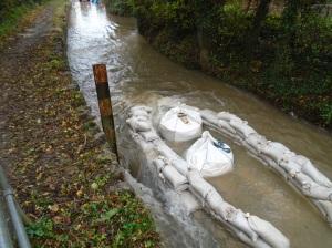 Monks Ford - work flooded 1