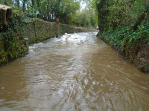 Monks Ford - work flooded 2