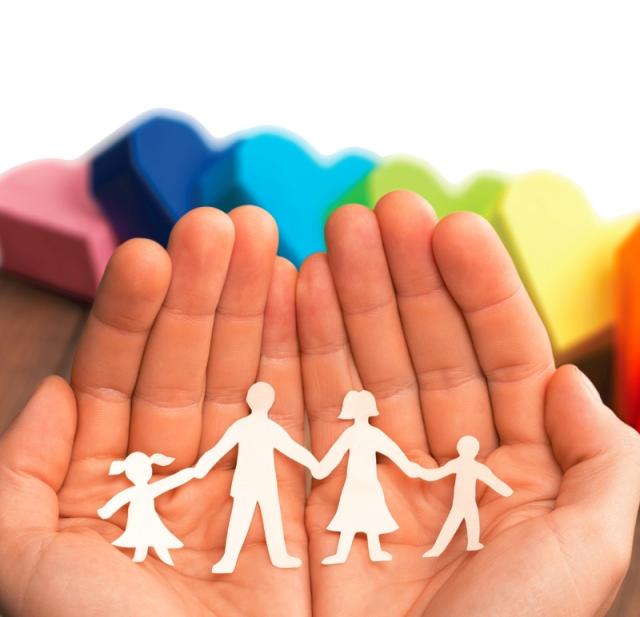 holding family