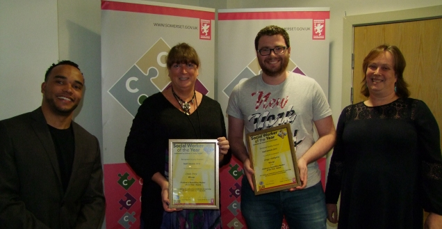 Winners of Social Worker of Year cropped