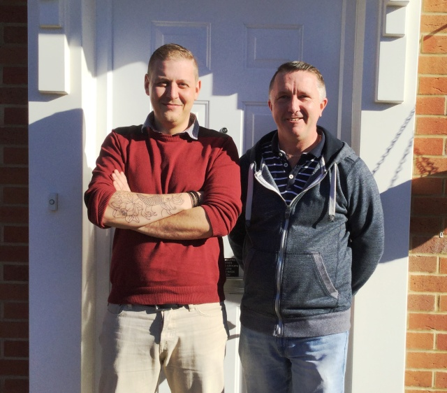Foster Carers Ian and Chris cropped