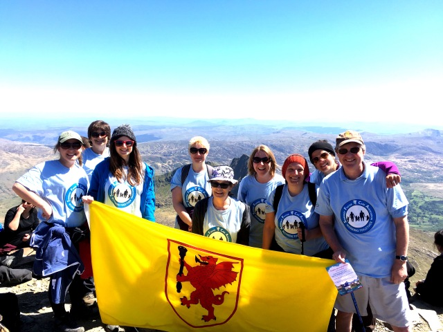 FARS team Snowdon hike 2