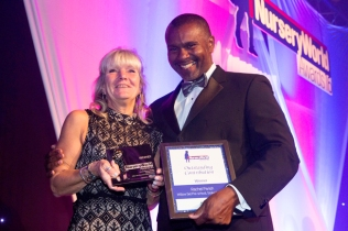 Rachel Parish clinched the Outstanding Contribution Award