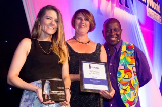 Rebecca Lihou crowned Childminder of the Year