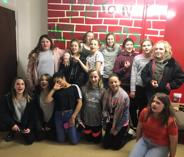 Photo of the Girls at Youth Club for S & W