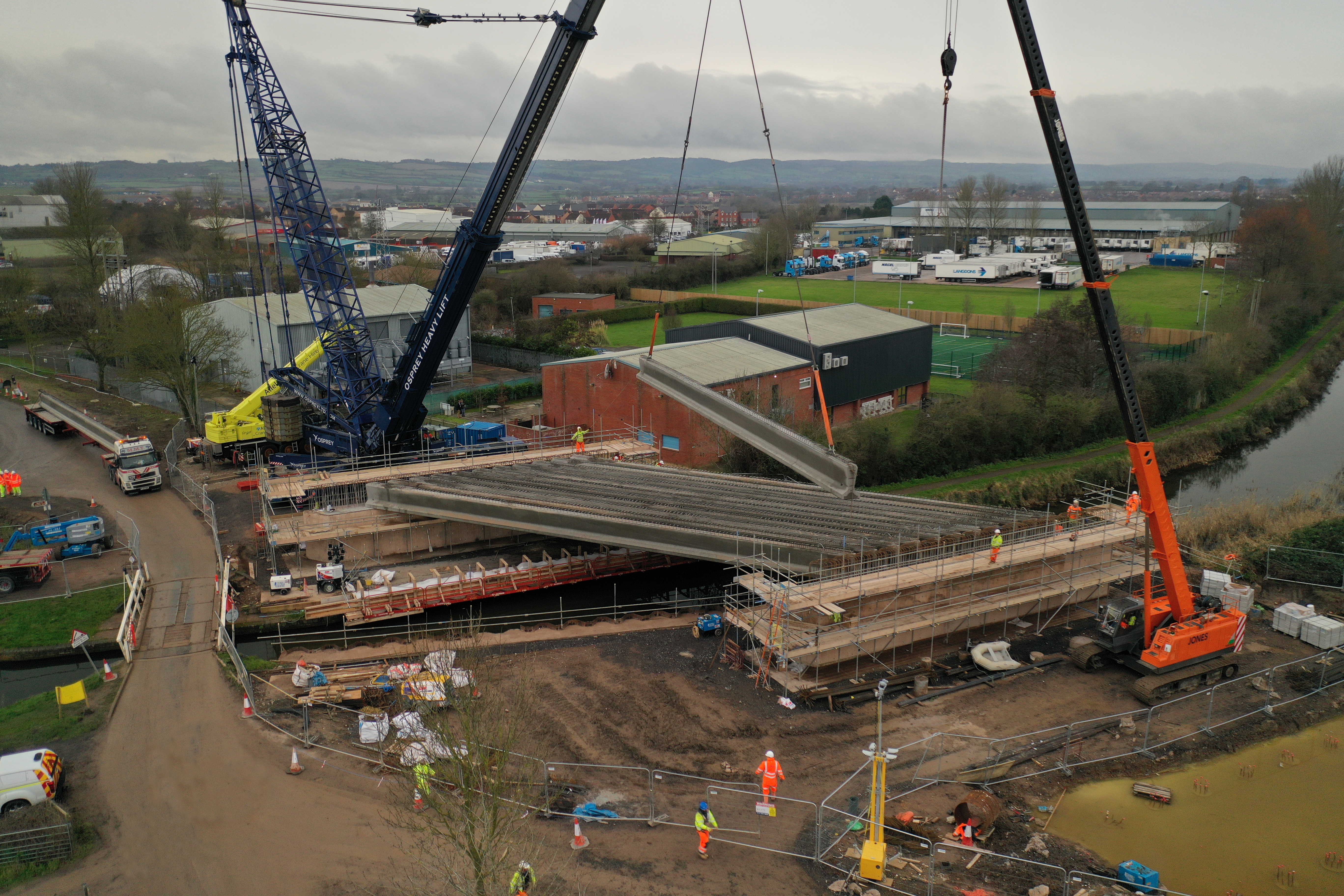 Another new bridge for Bridgwater | Somerset County Council